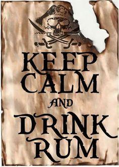 Drink rum!