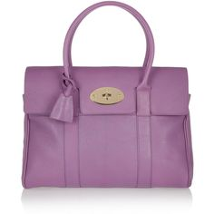 Mulberry The Bayswater glossed-leather bag found on Polyvore
