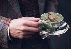 """""""A cup of you, brings the best in me."""", Sara Shakeel"""