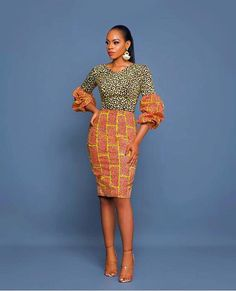 Most of us go for African print that give us with the freedom and comfort to be center of attraction. Ankara dress styles are now one of the social dresses that grants us full self expression. African Inspired Fashion, African Dresses For Women, African Print Dresses, African Print Fashion, African Attire, African Wear, African Fashion Dresses, African Women, African Prints