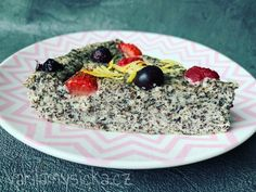 Pavlova, Desert Recipes, Oatmeal, Deserts, Food And Drink, Low Carb, Gluten Free, Healthy Recipes, Breakfast