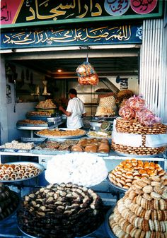 cityofbaghdad: sweets shop; karbala, 2003 (via...