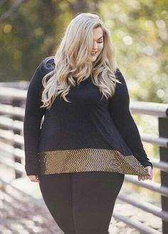 92066107a18 Plus Size Clothing for Women - Loey Lane Golden Confetti Top (Sizes 16 - -  Society+ - Society Plus - Buy Online Now! - 1 My body type