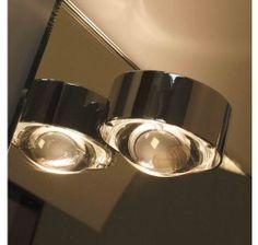Top Light Puk Mirror, Halogen - Spiegeleinbauleuchte