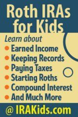 More on Roth IRAs for Kids and the effect on FAFSA