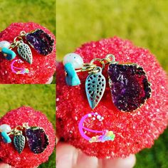 Amethyst Charm Bath Bombs. Bath Bombs with Charms. Bath Bomb Jewelry. Bath Bomb Jewels. Gifts Under 15. Teen Gifts. Aromatherapy. by LaBonitaPetra on Etsy