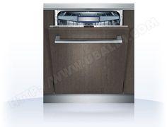 Lave vaisselle tout integrable SIEMENS SN76V090EU