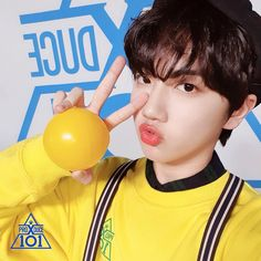 Real name : Ham Won Jin Birth year : 2001 Weight : 174 cm Height : 57 kg Blood type : o Hobby : Basket ball Expertise : Singing and japanese Training period : 2 year 6 months Agency : STARSHIP Im Proud Of You, Pretty Star, Produce 101, Starship Entertainment, Debut Album, Season 4, Mingyu, Kpop Groups, Girl Crushes