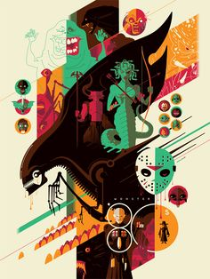 Monster '80s by Tom Whalen