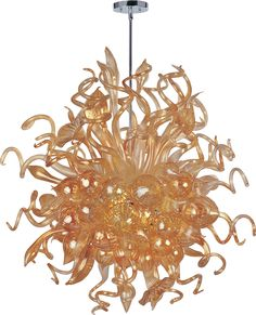 MAXIM LIGHTING - MIMI LED  Hand blown glass - 18 light LED. LONG LIFE, ENERGY EFFICIENT, and OUTSTANDING!