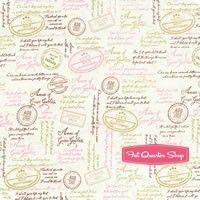 Anne of Green Gables Cream Quotes Yardage SKU# C5864-CREAM