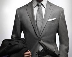 A fantastic light grey silk suit. Bespoke Attire London | Clothing ...