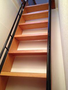 Metal Rails for Ladder — Barn Depot Design Your Home, House Design, Metal Handrails, Banisters, Railings, Ship Ladder, Attic Ladder, Loft Ladders, Loft Stairs