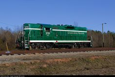 RailPictures.Net Photo: GRLW 3751 Greenville & Western EMD GP9 at Belton, South Carolina by Will Jordan