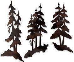 silouette pine logo -photography -oil - Google Search
