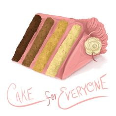 Cake for Everyone.........artist?