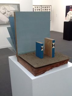 Mark Manders Artist Landscape with Fake Dictionary Frieze Art Fair London
