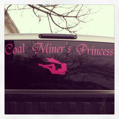 Coal miners princess!