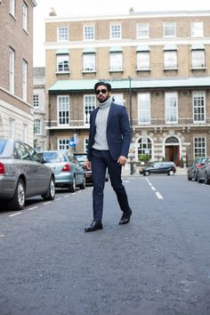 Gurj Sohanpal is the founder & mastermind behind menswear fashion &  lifestyle blog, Singh Gentry. Featured in black oxford brogues by men's footwear company Koch & Co.