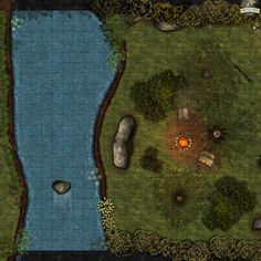 Open The Map, Campsite, Dungeons And Dragons, Product Launch, Maps, Link, Cards, Camping, Blue Prints