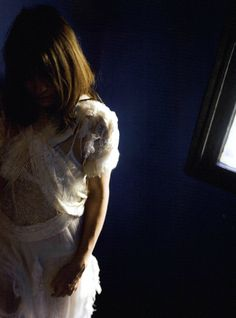 Charlotte Gainsbourg in 'Charlotte For Ever' Photographer: Nan Goldin Dress: Rodarte F/W 2010/11 Lula #11 F/W 2010/11