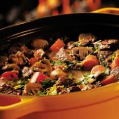 see the recipes: Healthy Dutch Oven recipes and Dutch-oven Chicken Recipes