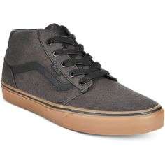 d7da14c7e4 Vans Men s Chapman Mid Canvas Sneakers Men - All Men s Shoes - Macy s