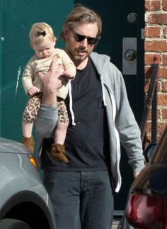 Jessica Simpson Steps Out as Eric and Maxwell Have a Day Date: Eric Johnson carried baby Maxwell.