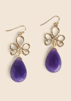 Lilac Essence Earrings at #Ruche @mimi ヾ(^∇^)
