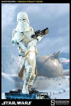Who Buys Star Wars Collectibles | Snowtrooper Premium Format™ Figure — Regular Edition