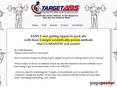 Cool TargetABS - 5 Worst Training Mistakes For Six Pack Abs