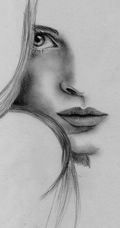 35 Best Ideas For Drawing Disney Easy Sketches Cartoon Chara Abstract Pencil Drawings, Pencil Drawings Of Girls, Pencil Portrait Drawing, Girl Drawing Sketches, Dark Art Drawings, Girly Drawings, Art Drawings Sketches Simple, Realistic Drawings, Beautiful Pencil Drawings