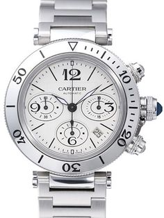 Cartier Pasha Seatimer Chronograph w31089m7 Watch