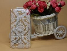 New fashion DIY Vintage Black & White Paisley Flower Hard Plastic Skin Cover Case FOR ZTE Blade Q lux 3G 4G phone Case in stock