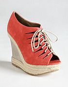 MATERIAL GIRL HARLSTON WEDGE SANDALS - Got these today, in black