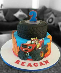 Red Fire Truck Birthday Cake Truck Birthday Cakes Fire Trucks - Car engine birthday cake