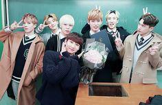 """[170209] twitter update """"@24K_officialEng: Happy Graduation, #Jinhong #3rdYear_class4_number4 #24K """""""