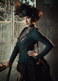 Model : Maria Berseneva Photography : Shibina Nadegda make up and hair : Li Lobanova, #SteamPUNK ☮k☮