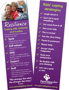 Resilience can be nurtured and developed, particularly when parents themselves are resilient and they actively foster it in their kids. Resilient kids share four basic skill sets - independence, problem-solving, optimism and social connection.