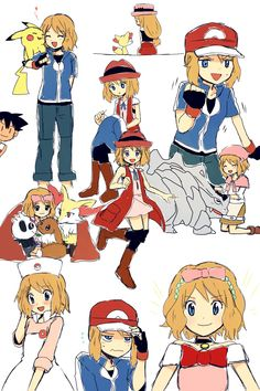 Pokemon Ash And Serena, Pokemon X And Y, Sexy Pokemon, Pokemon Ships, Pokemon Funny, Pokemon Memes, Pokemon Fan Art, Pokemon Waifu, Fairy Tail Pictures