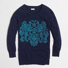 <ul><li>Viscose/nylon/merino wool.</li><li>Three-quarter sleeves.</li><li>Hits at hip.</li><li>Hand wash.</li><li>Import.</li></ul>