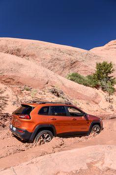 Jeep Cherokee Trailhawk June, 2015_Moab, UT