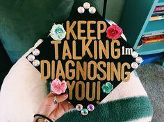 Graduation cap psychology