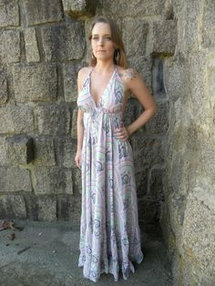 Vestido Deusa Longo 8