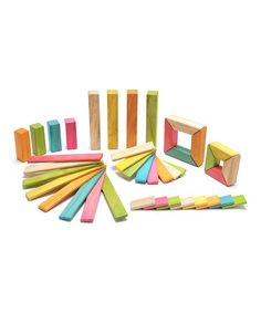 This Tints Explorer Block Set by Tegu is perfect! #zulilyfinds
