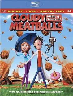 Cloudy With A Chance Of Meatballs (Blu-Ray/Dvd/2 Disc/Ws 2.35/Dd 5.1)