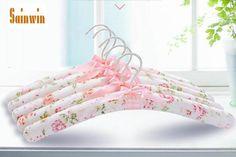 Sainwin 10pcs/lot 40cm High Quality Sponge Silk Satin Cloth Hangers For Clothes Pegs Adult Suit Hanger - ICON2 Luxury Designer Fixures  Sainwin #10pcs/lot #40cm #High #Quality #Sponge #Silk #Satin #Cloth #Hangers #For #Clothes #Pegs #Adult #Suit #Hanger