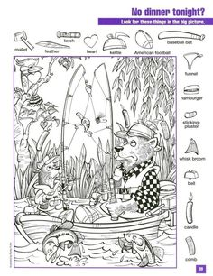 hidden pictures printable highlights teachers toolbox picture puzzles - Printable Pages Hidden Picture Games, . Free Activity Printable for Kids and Adult. Hidden Picture Games, Hidden Picture Puzzles, Puzzles For Kids, Craft Activities For Kids, Animal Coloring Pages, Colouring Pages, Highlights Hidden Pictures, Hidden Pictures Printables, Hidden Images