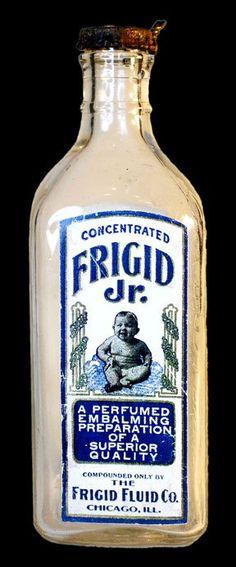 Frigid jr. embalming fluid