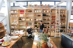 Incredible café, shop, and community space opens in Healdsburg, California. An ideal place to stop for lunch on your visit to the Sonoma and Napa valley region.